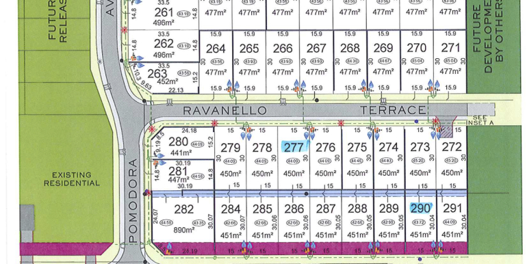 Lot 258, 277 Block Plan